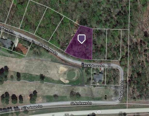 Lot 16 St Andrews Lane, Holiday Island, AR 72631 (MLS #1170650) :: NWA House Hunters   RE/MAX Real Estate Results
