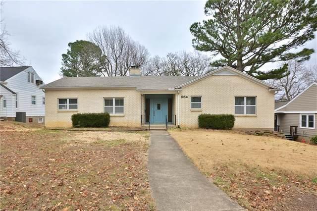 934 Park Avenue, Fayetteville, AR 72701 (MLS #1171928) :: McNaughton Real Estate