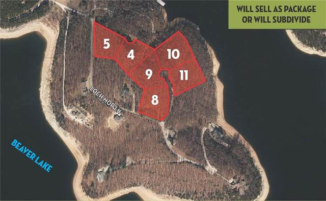 2.80 Acres (Lots 8 & Highland Way, Garfield, AR 72732 (MLS #1172239) :: McNaughton Real Estate