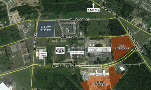 Roberts Boulevard & Veterans Avenue, Fort Smith, AR 72916 (MLS #1177222) :: Elite Realty