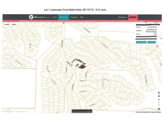 Lot 1, Block 4 Lasswade Circle, Bella Vista, AR 72715 (MLS #1184860) :: McNaughton Real Estate