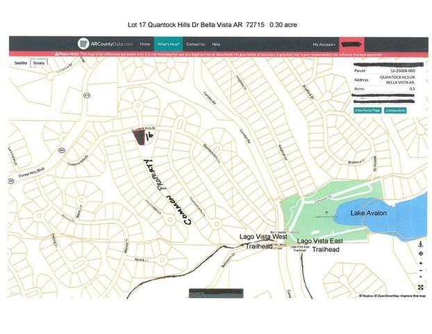Lot 17, Block 4 Quantock Hills Drive, Bella Vista, AR 72715 (MLS #1184883) :: Five Doors Network Northwest Arkansas