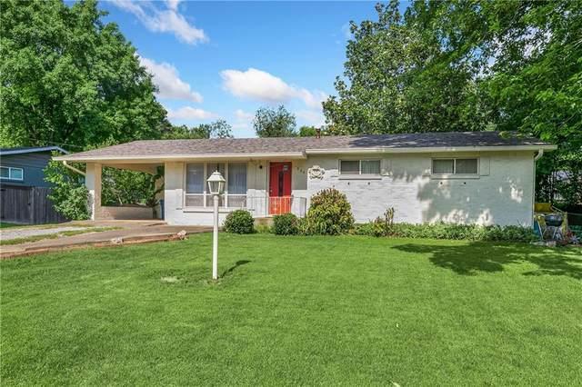 606 NW K Street, Bentonville, AR 72712 (MLS #1188722) :: Five Doors Network Northwest Arkansas