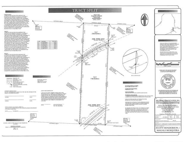 Tract 2 Fire Tower Road, Elkins, AR 72727 (MLS #1189075) :: McNaughton Real Estate