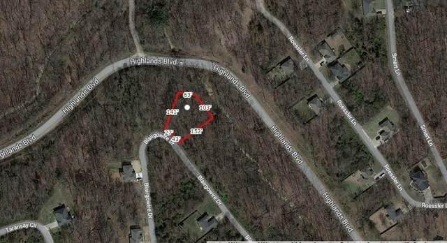 Lot 16, Block 6 Blairgowire Drive, Bella Vista, AR 72715 (MLS #1193767) :: Five Doors Network Northwest Arkansas