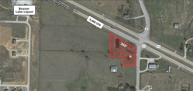 Approx. 2 Acres Hwy 45 & Hwy 412, Hindsville, AR 72738 (MLS #1198412) :: NWA House Hunters | RE/MAX Real Estate Results