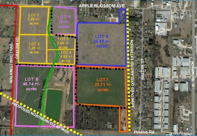 46.74AC W Apple Blossom  Ave, Springdale, AR 72765 (MLS #1061765) :: McNaughton Real Estate