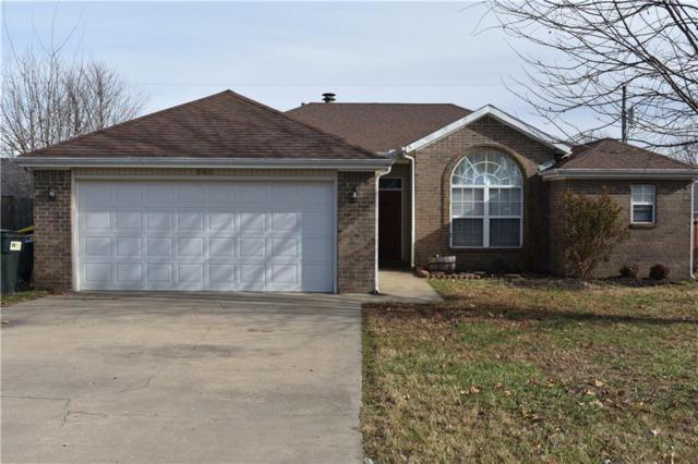 660 Frances Drive, Centerton, AR 72719 (MLS #1066445) :: McNaughton Real Estate