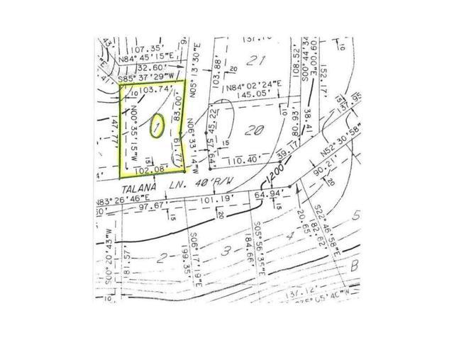-- Talana Lane & Talana Place, Bella Vista, AR 72715 (MLS #1072876) :: McNaughton Real Estate