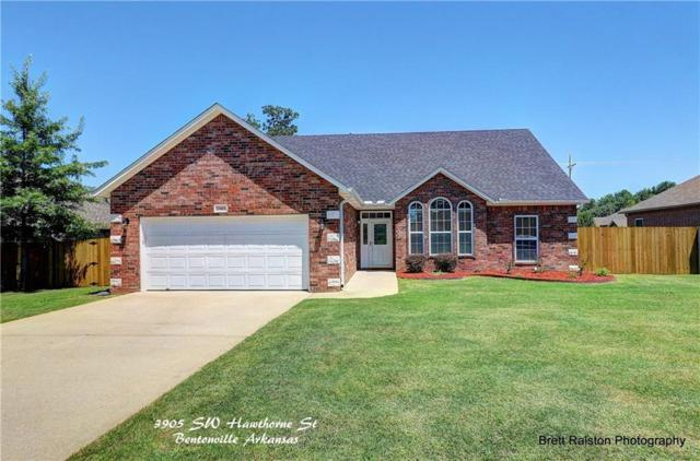 3905 Sw Hawthorne  St, Bentonville, AR 72712 (MLS #1086015) :: McNaughton Real Estate