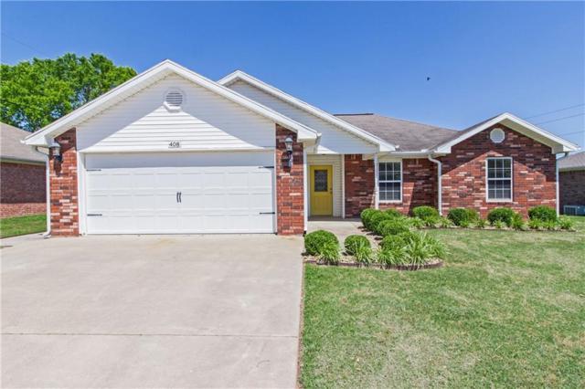408 Township  Dr, Centerton, AR 72719 (MLS #1118033) :: HergGroup Arkansas