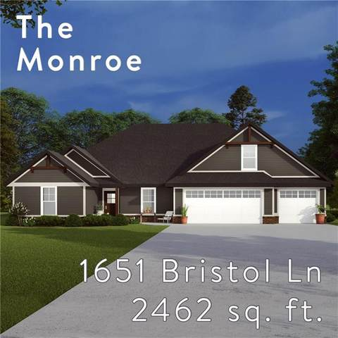 1651 Bristol Lane, Centerton, AR 72719 (MLS #1155134) :: Five Doors Network Northwest Arkansas