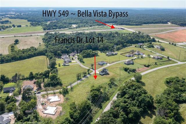 Lot 14 Francis Drive, Bella Vista, AR 72715 (MLS #1188301) :: McMullen Realty Group