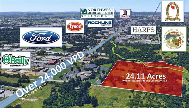 1235 Cooper Drive, Springdale, AR 72764 (MLS #1192635) :: NWA House Hunters | RE/MAX Real Estate Results