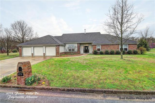 8779 W W Forest Hills  Dr, Fayetteville, AR 72704 (MLS #1076761) :: McNaughton Real Estate