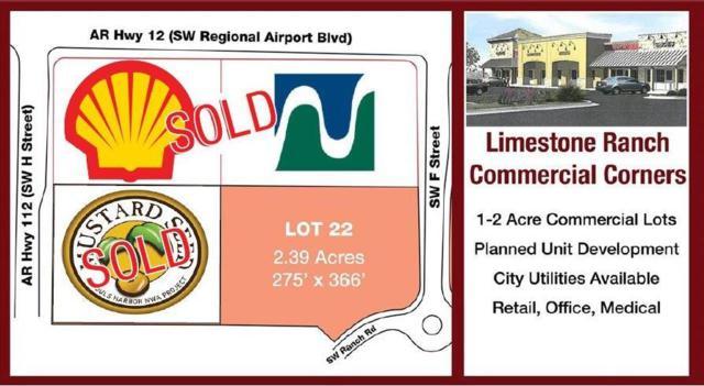 0 Sw Regional Airport  Blvd, Bentonville, AR 72713 (MLS #1085540) :: Five Doors Network Northwest Arkansas