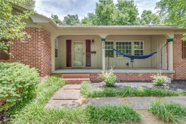 220 Olive  Ave, Fayetteville, AR 72701 (MLS #1077023) :: McNaughton Real Estate
