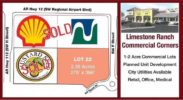0 SW Regional Airport Boulevard, Bentonville, AR 72713 (MLS #1085540) :: McMullen Realty Group