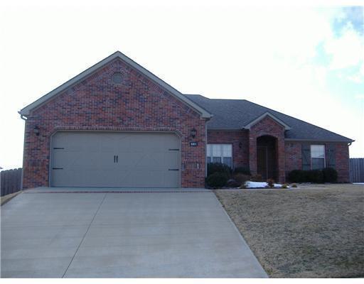851 Sienna Drive, Centerton, AR 72719 (MLS #1075402) :: McNaughton Real Estate