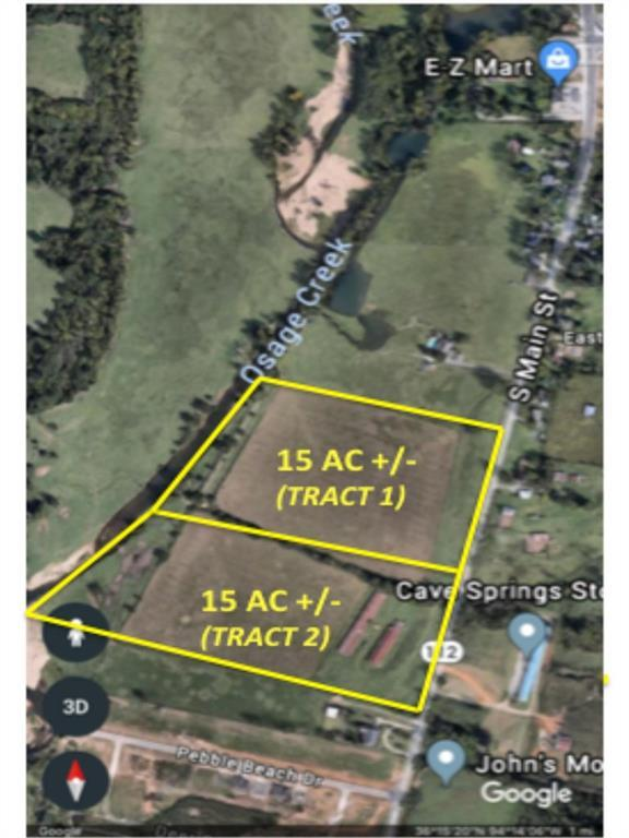15 Acres  S Main  St, Cave Springs, AR 72718 (MLS #1083821) :: McNaughton Real Estate