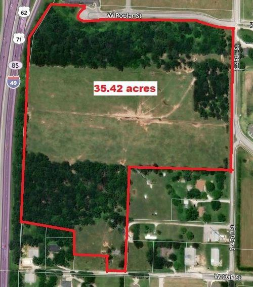 S 45th  St, Rogers, AR 72758 (MLS #1086116) :: McNaughton Real Estate