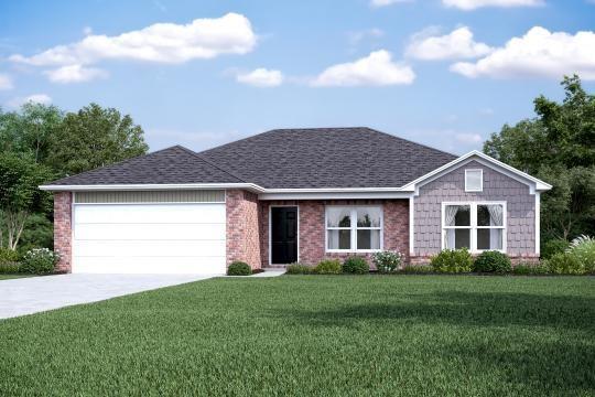 2400 Double Bogey  Ln, Farmington, AR 72753 (MLS #1112379) :: HergGroup Arkansas