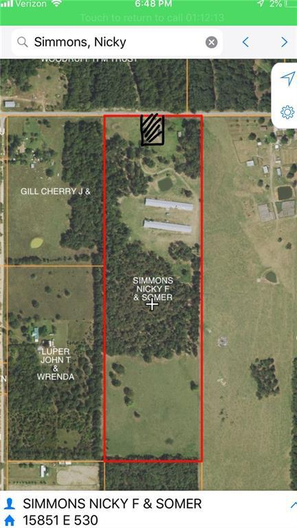 15851 530  RD, Colcord, OK 74338 (MLS #1114864) :: Five Doors Network Northwest Arkansas