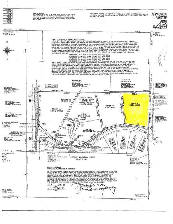 Tract C  E Stone Mountain  Dr, Fayetteville, AR 72701 (MLS #1131736) :: Five Doors Network Northwest Arkansas