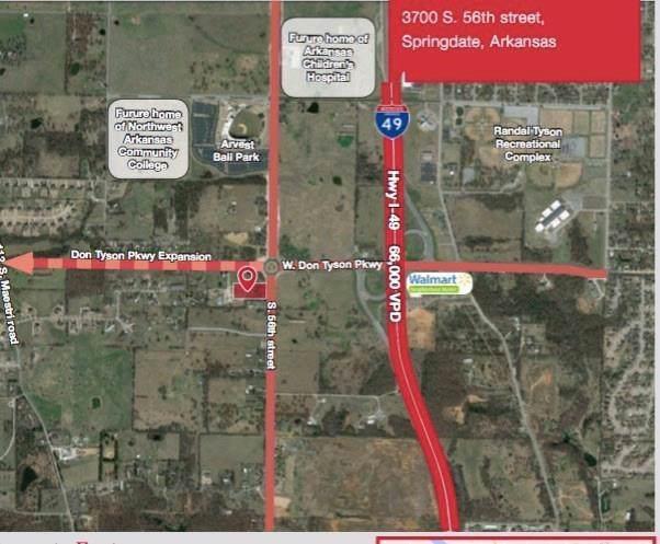 3700 S 56th  St, Springdale, AR 72762 (MLS #1134128) :: McNaughton Real Estate
