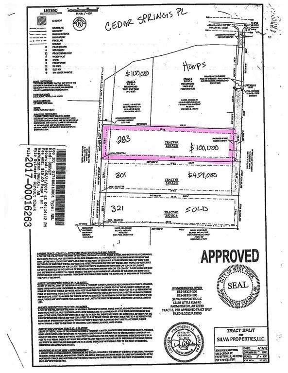 283 Cedar Springs  Pl, West Fork, AR 72774 (MLS #1137122) :: McNaughton Real Estate