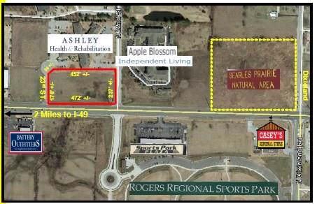 2.57AC W Hudson  Rd, Rogers, AR 72756 (MLS #1138070) :: McNaughton Real Estate
