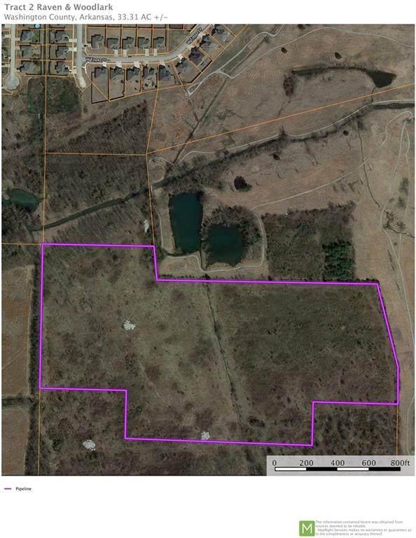 33.31 Ac M/L Raven & Woodlark, Fayetteville, AR 72704 (MLS #1142581) :: McNaughton Real Estate