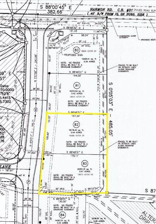 18588 Astor Drive, Springdale, AR 72764 (MLS #1147466) :: Five Doors Network Northwest Arkansas