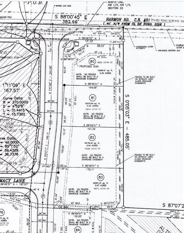 18588 Astor Drive, Springdale, AR 72764 (MLS #1147606) :: McNaughton Real Estate