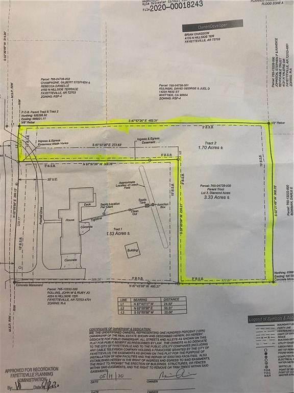N Hillside Terrace, Fayetteville, AR 72703 (MLS #1151181) :: Five Doors Network Northwest Arkansas