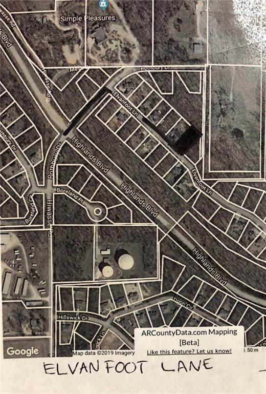 Lot 2 Elvanfoot Lane, Bella Vista, AR 72715 (MLS #1157910) :: McNaughton Real Estate