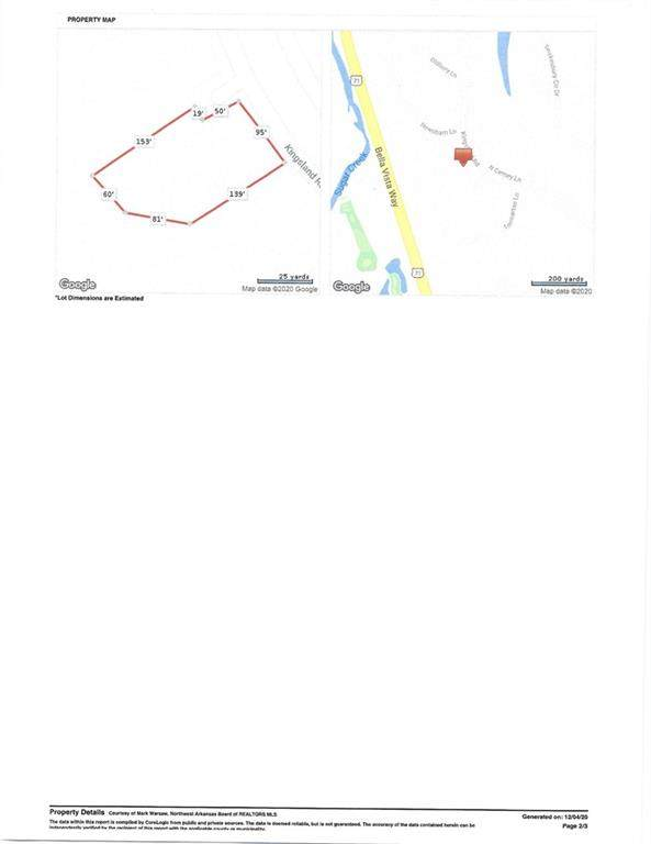 Cinderford Lane, Bella Vista, AR 72714 (MLS #1168164) :: Five Doors Network Northwest Arkansas