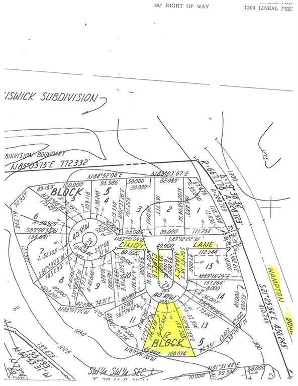 Lot 12 Block Nancy Circle, Bella Vista, AR 72715 (MLS #1184927) :: McNaughton Real Estate