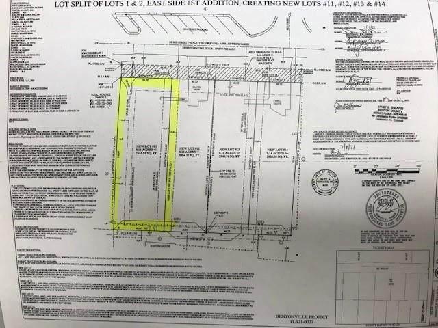 Lot 11 SE 3rd Street, Bentonville, AR 72712 (MLS #1193165) :: Five Doors Network Northwest Arkansas