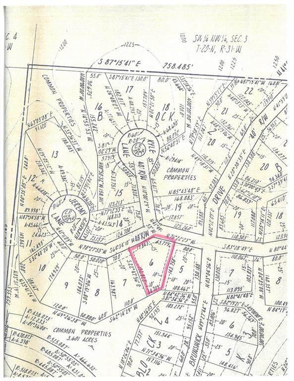 Lot 6, Block 2 Jeremy Lane, Bella Vista, AR 72715 (MLS #1197633) :: Five Doors Network Northwest Arkansas