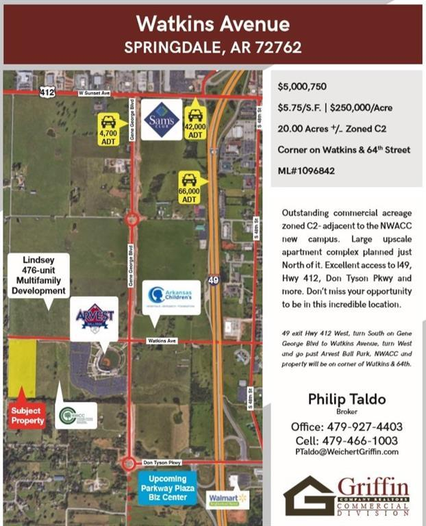 Watkins Ave, Springdale, AR 72762 (MLS #1096842) :: McNaughton Real Estate