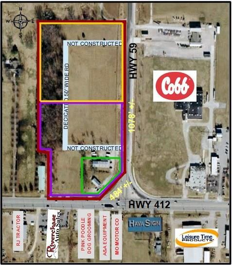 1AC Hwy 412 & Hwy 59, Siloam Springs, AR 72761 (MLS #1101769) :: Annette Gore Team | RE/MAX Real Estate Results