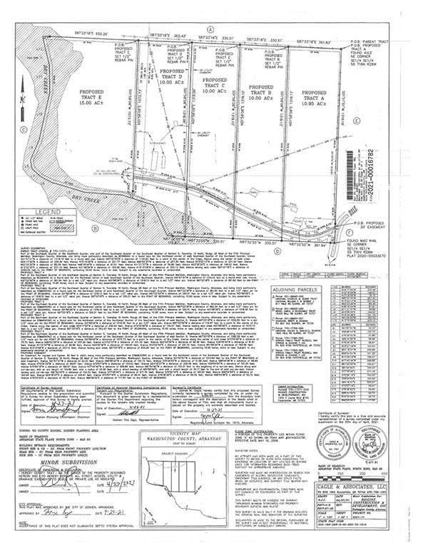 Tract-B Hale Road, Goshen, AR 72727 (MLS #1183692) :: McNaughton Real Estate