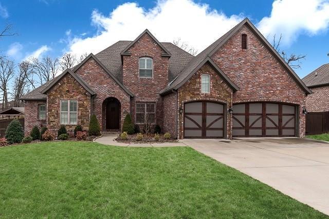 203 NE Lakeview Terrace, Bentonville, AR 72712 (MLS #1075937) :: McNaughton Real Estate