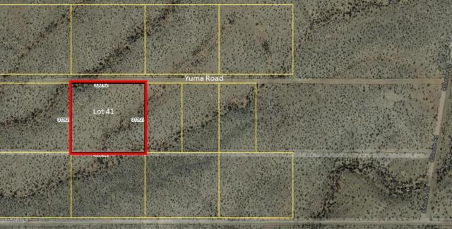 Lot 41 Yuma Road, Kingman, AZ 86401 (MLS #5591852) :: Lifestyle Partners Team