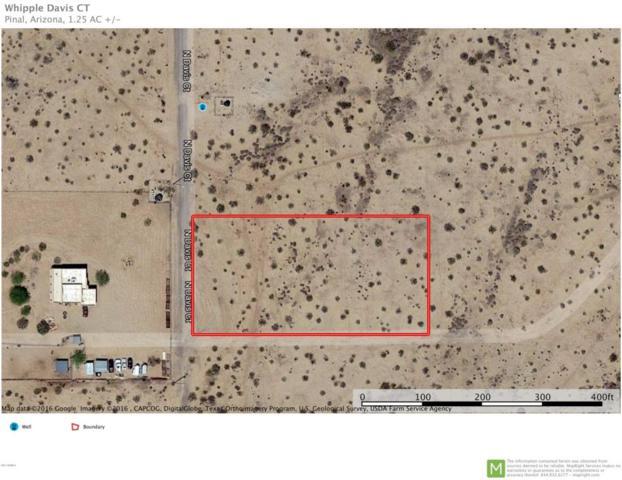 0 N Davis Court, Maricopa, AZ 85139 (MLS #5624706) :: Group 46:10