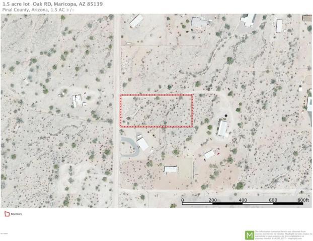 0 S Oak Road, Maricopa, AZ 85139 (MLS #5624709) :: Group 46:10