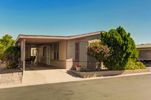 5735 E Mcdowell Road #220, Mesa, AZ 85215 (MLS #5649318) :: Brett Tanner Home Selling Team