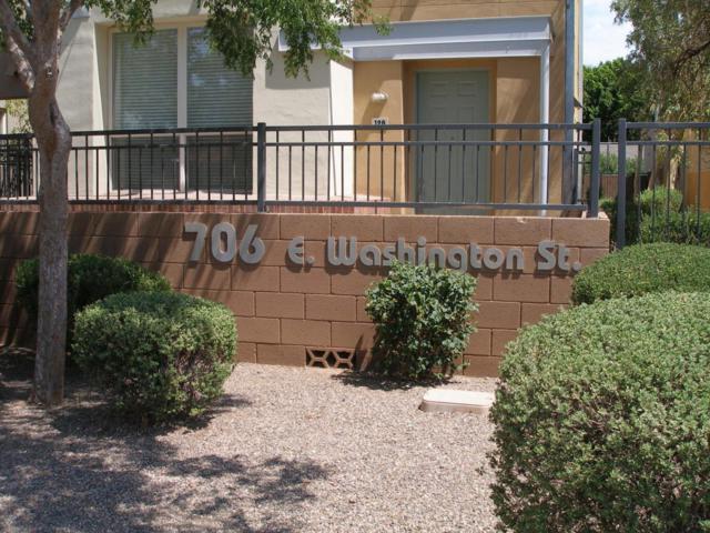 706 E Washington Street #206, Phoenix, AZ 85034 (MLS #5664513) :: The Pete Dijkstra Team
