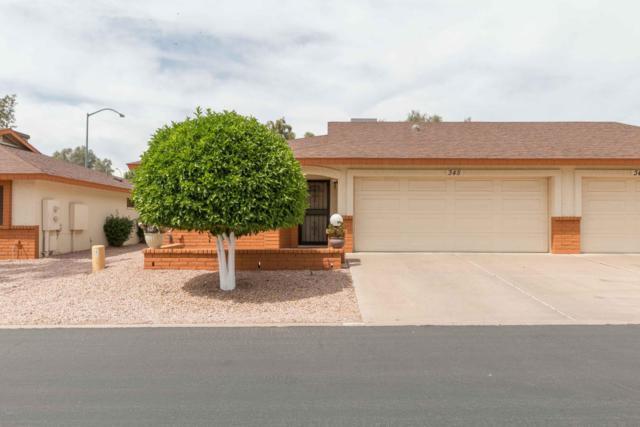 8160 E Keats Avenue #345, Mesa, AZ 85209 (MLS #5664519) :: The Pete Dijkstra Team